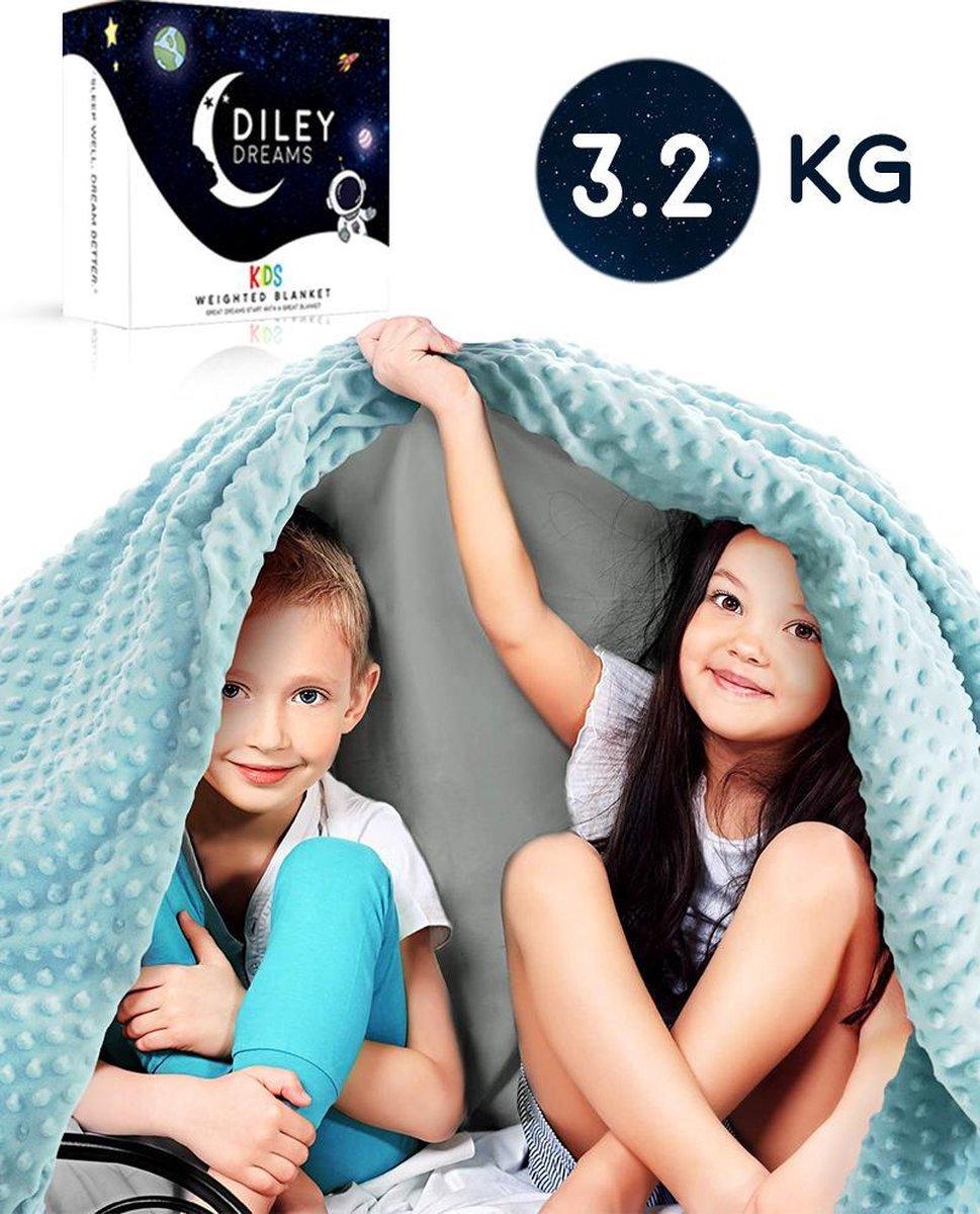 Verzwaringsdeken Kind 3.2kg van Diley Dreams®